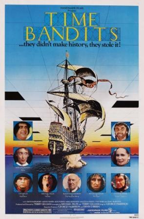 Смотреть Бандиты во времени онлайн / online (1981)